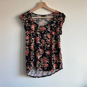 Floral Tee Blouse